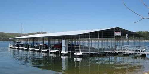 slip rental on table rock lake